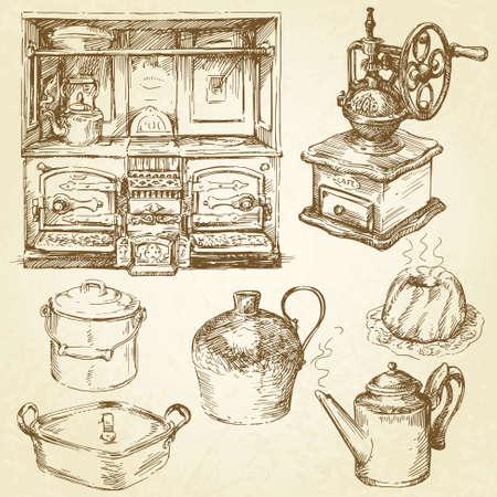 utensilios de cocina: utensilios de cocina, utensilios Vectores