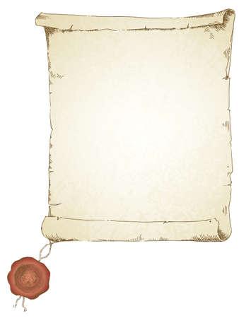 papiro: scroll - collezione disegnata a mano
