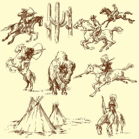 tepee: wild west