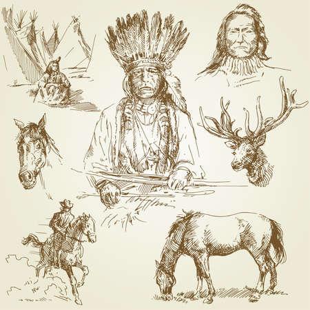 indio americano: salvaje oeste