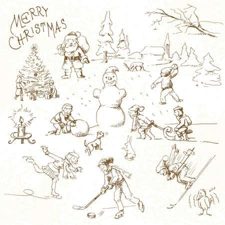 christmas card Stock Vector - 13571761