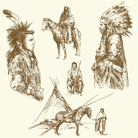 native american art: wild west
