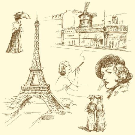 paris Stock Vector - 13753884