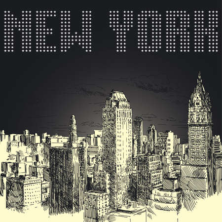 high rise buildings: new york