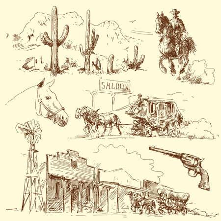 oeste: salvaje oeste
