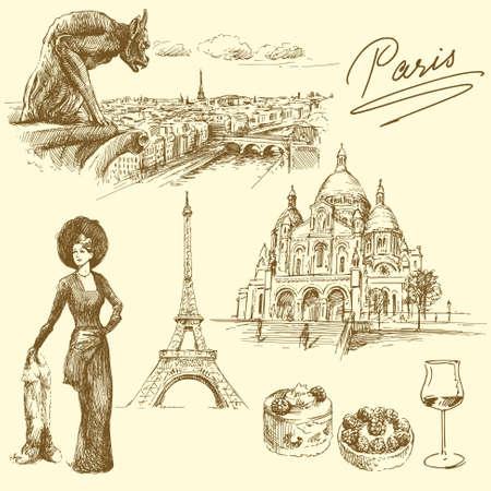 ностальгический: Париж