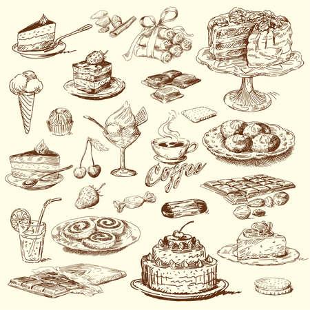 케이크: 큰 달콤한 컬렉션