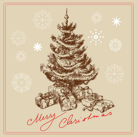christmas card Stock Vector - 14097677