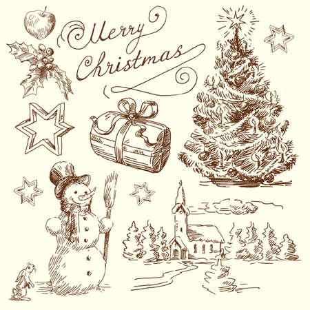 christmas church: christmas background