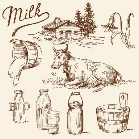 ミルクのいたずら書き