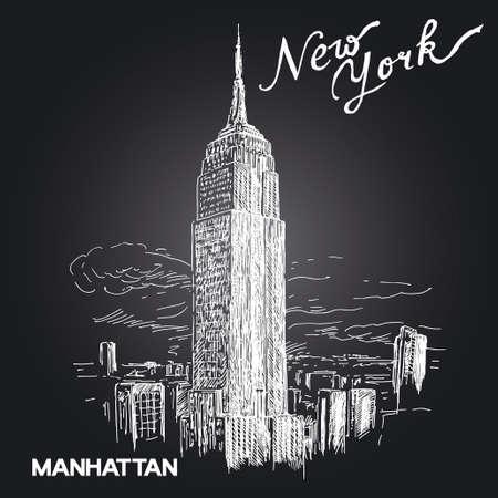 new york skyline: new york