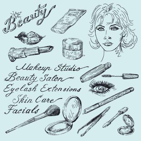 eyeliner: beauty doodles