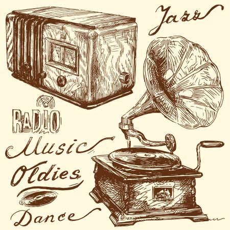 gramophone: music doodles