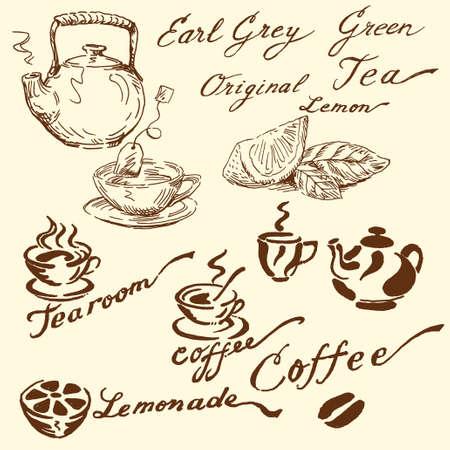 tearoom: tea doodles