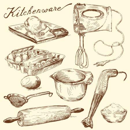 ustensiles de cuisine: ustensiles de cuisine Illustration