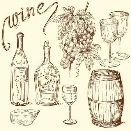 ワインのいたずら書き