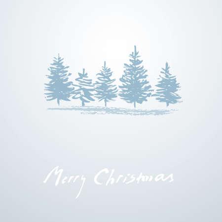 christmas background simple christmas card stock vector 15021064