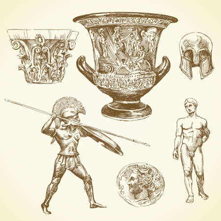 古代ギリシャ 写真素材 - 17446234