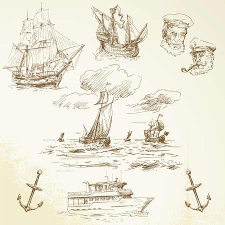 anker: nautische Set
