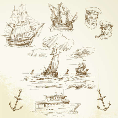 capitano: set di nautica