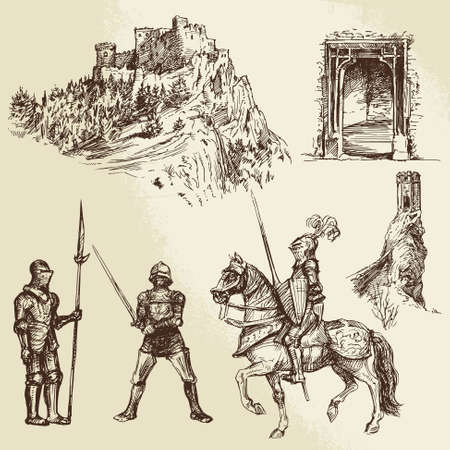 iron ribbon: middle age knights