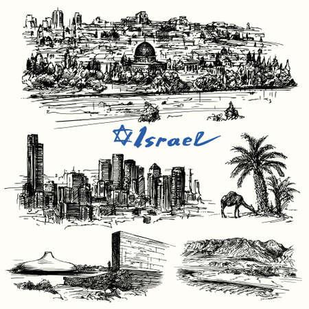 Israel - drawing