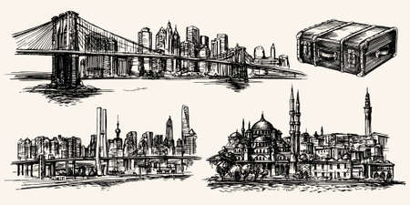 Reise um die Welt, New York, Istanbul, Shanghai
