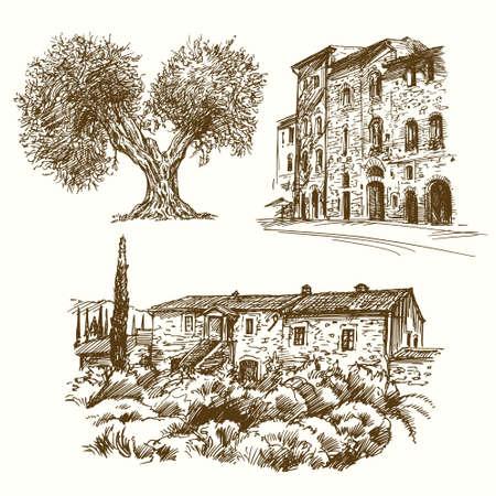 Italienische Landschaften.