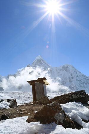 heaven on earth: heaven on earth from nepal in everest himalaya trek