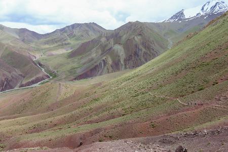 way trek to stok kangri summit from lehcity india trek