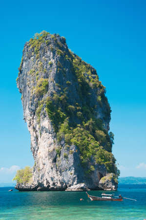 Poda Island at Krabi, Thailand photo