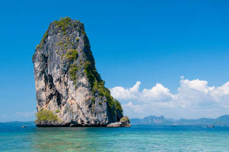 Island in Krabi, Thailand photo