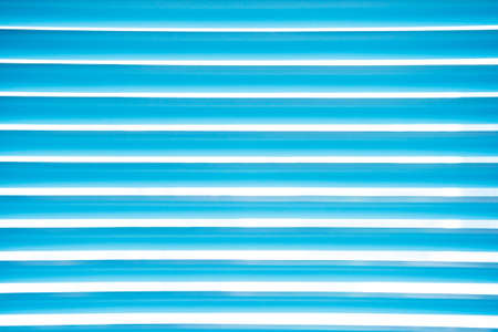 jalousie: Abstract blue venetian blinds