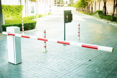Gate barrier Standard-Bild