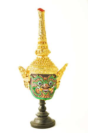 khon: Hua Khon : Thai Traditional Mask