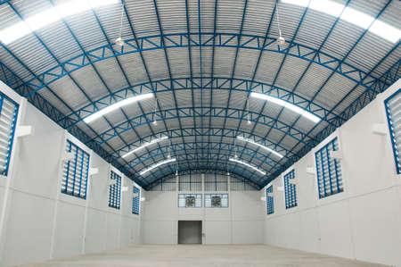 empty warehouse: The empty warehouse Stock Photo