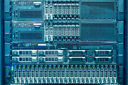 data recovery: Technology of computer server in datacenter