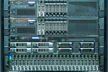 internet servers: Technology of computer server in datacenter