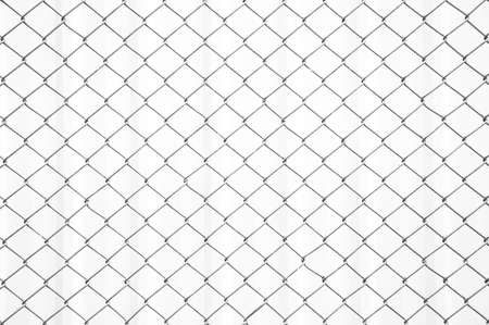 Chain Fence white pattern background