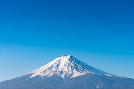 Fuji mount with blue sky, Japan Imagens