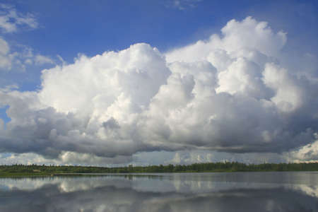 pacification: big cloud over the lake