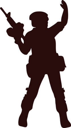 silhouette soldier4