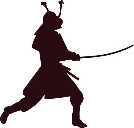 samurai silhouette 2