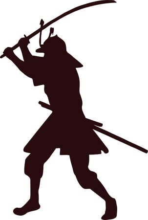 samurai silhouette 6