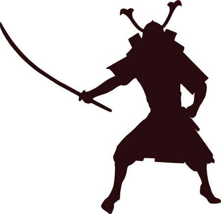 daimyo: samurai silhouette 8