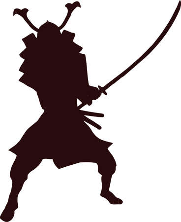 daimyo: samurai silhouette 10