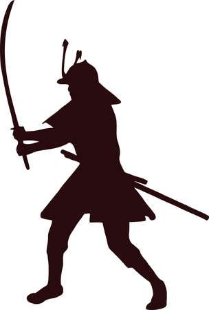 samurai silhouette 11