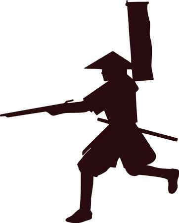 samurai with musket gun 6