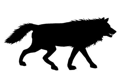 Wolf Silhouette 6