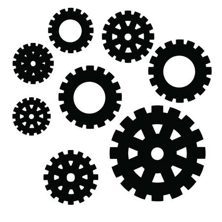 Gearwheel Vector Art